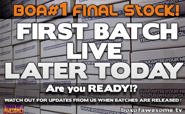 FRI1pm-Firstbatchlive-latertodayBLOG