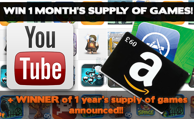 Win a years supply of gamesBLOG
