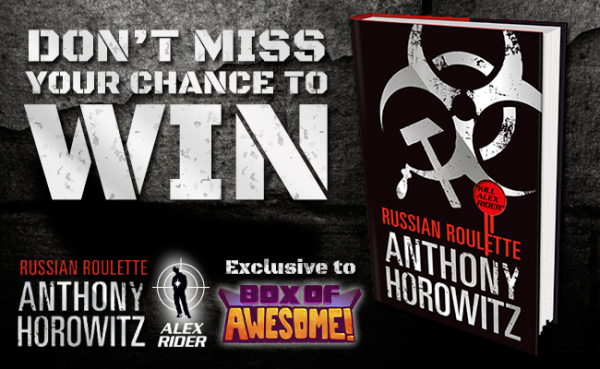 WIN: 'Russian Roulette' – signed by Anthony Horowitz!