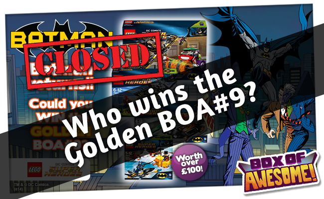 Who has WON the GOLDEN BOX OF AWESOME #9?
