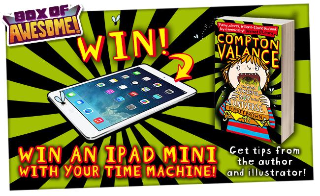 WIN an iPad Mini with Compton Valance in BOA#9!