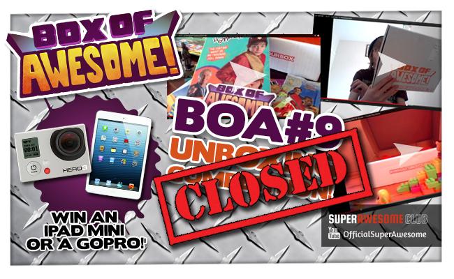 BOA#9 Unboxing winners announced! Who wins an iPad Mini or GoPro Camera?