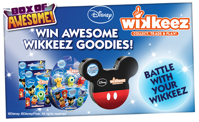 Battle with your Wikkeez!! WIN an Awesome Disney Wikkeez bundle!