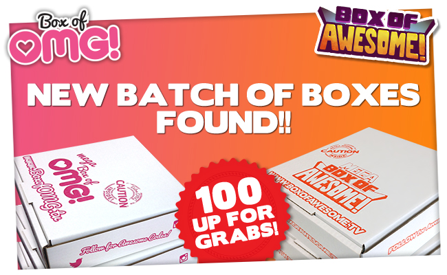 Win a MEGA Box of Awesome or MEGA Box of OMG!