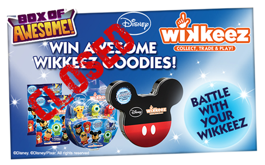 Who has WON an awesome prize with their Disney Wikkeez?